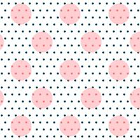 elegant circles polka art pattern