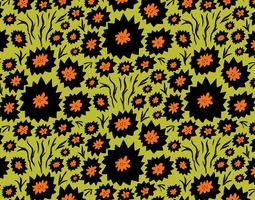 thistle flower pattern