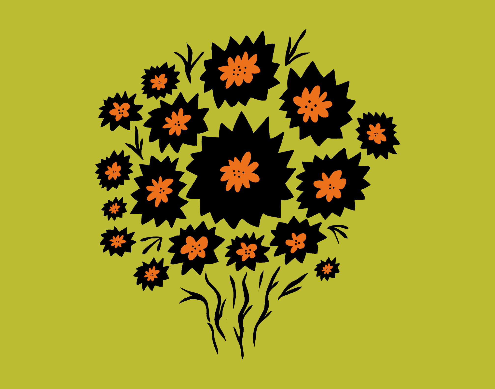 Thistle Flower Bunch Download Free Vector Art Stock Graphics Images