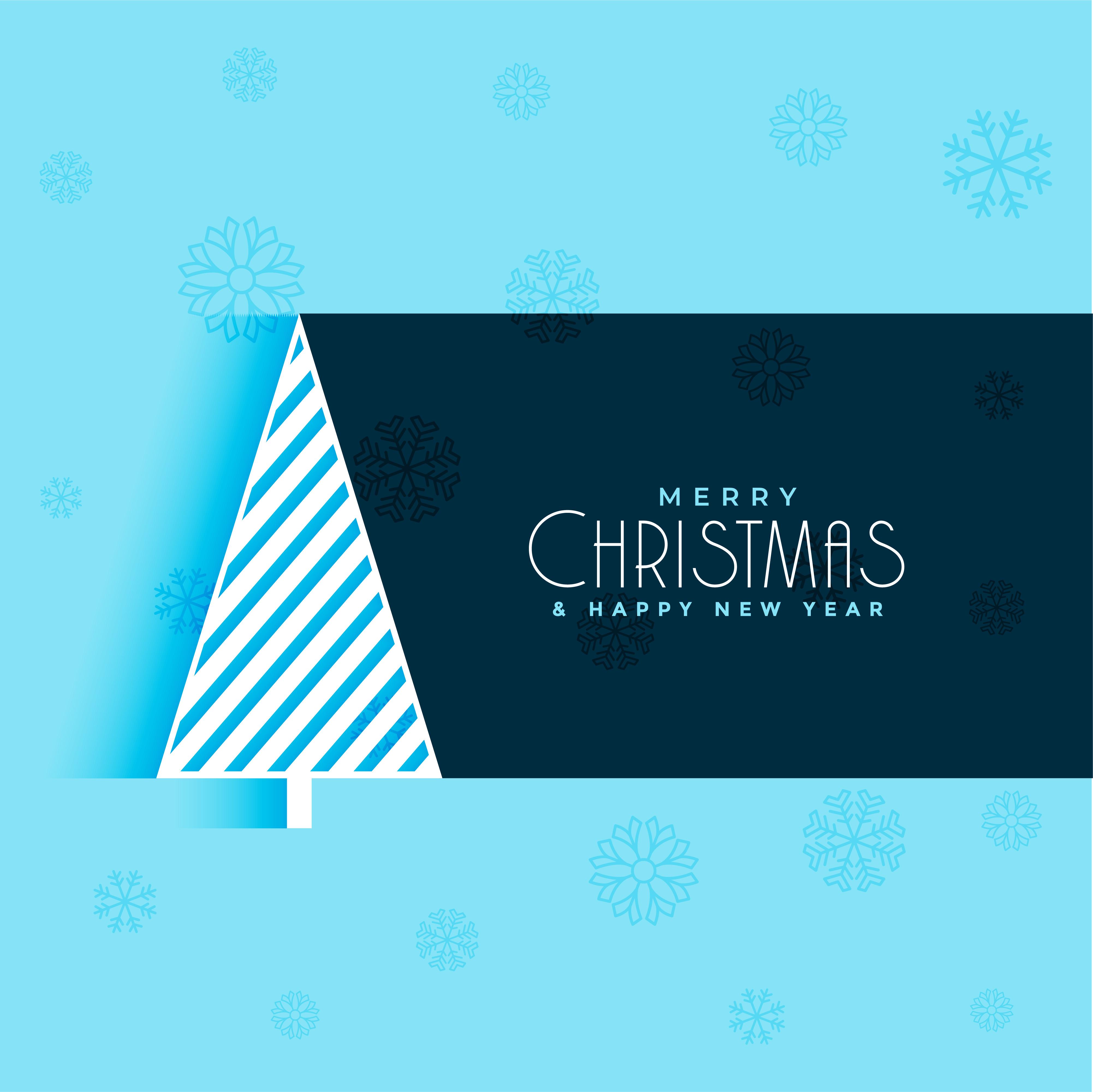 Kreativer Weihnachtsbaum-Design-blauer Hintergrund - Kostenlose ...