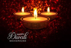 Creative Diwali Festival Decorative Template Background
