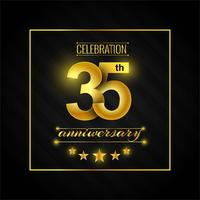 35th anniversary logo