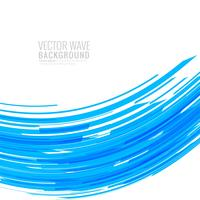 Abstract creative colorful wavy background