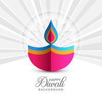 Happy diwali celebrationi design vector