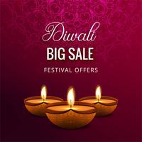 Happy diwali celebrationi decorative background
