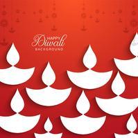 Religious happy diwali festival colorful decorative background