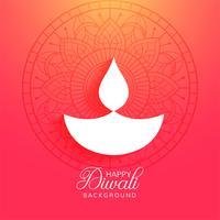 Religieuze gelukkige diwali festival kleurrijke achtergrond