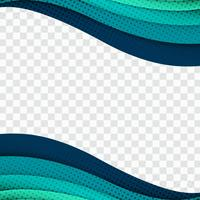 Abstract business elegant wave background illustration vector