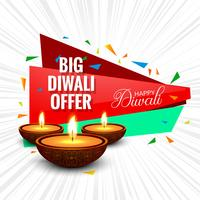 Diwali Festival Angebot Big Sale Hintergrund Template Design