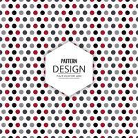 Diseño abstracto sin patrón decorativo vector