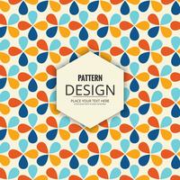Abstract decorative seamless pattern design vector