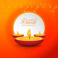 Decorative Happy Diwali festival background