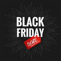 Abstrakt svart fredag försäljning affisch design vektor