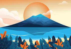 Mountain View Vector Design