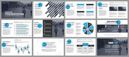 Business Presentation with Infographics
