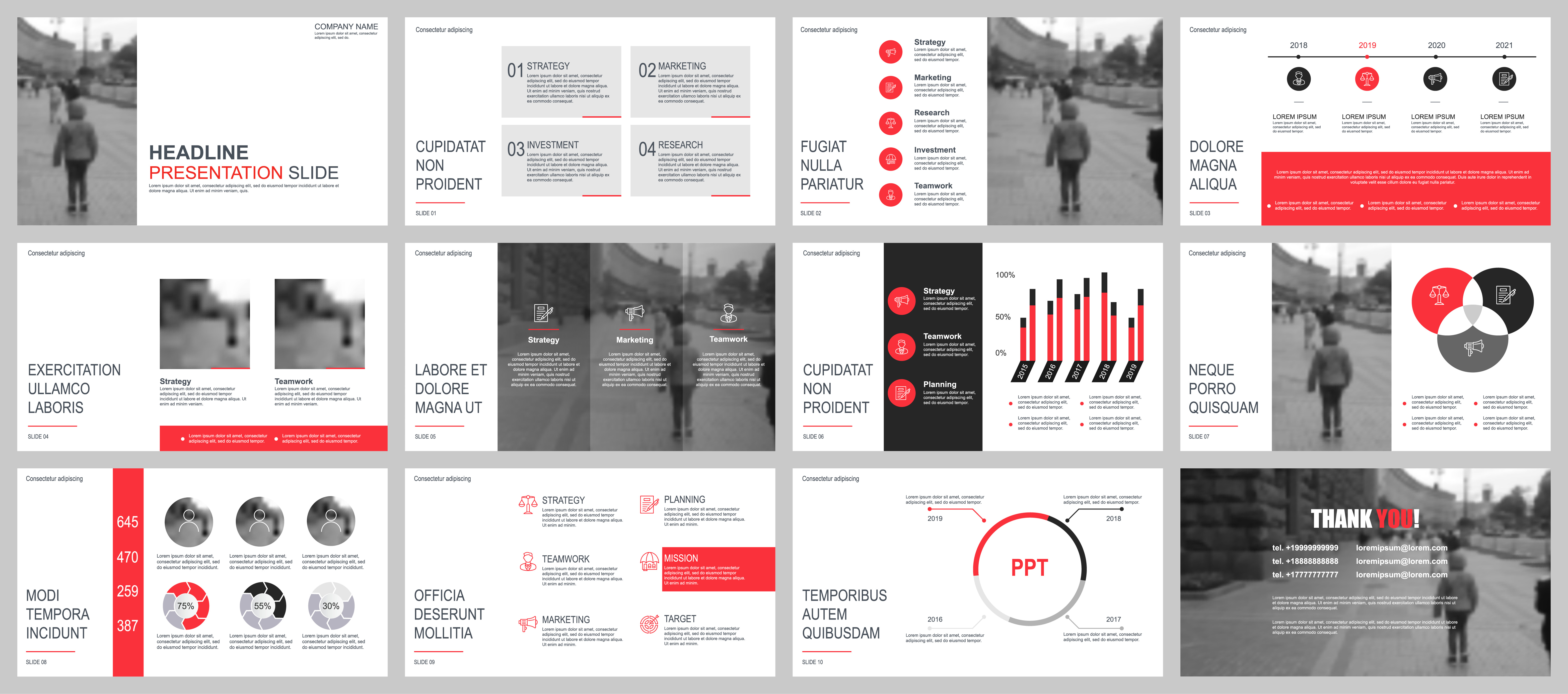 Business presentation powerpoint slides templates from infographic business presentation powerpoint slides templates from infographic elements download free vector art stock graphics images flashek Image collections