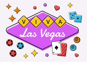 vector de compotition viva las vegas