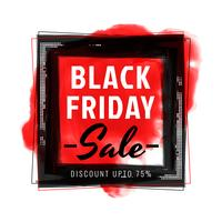 Abstract black friday sale background
