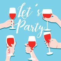 Parties Vector Design