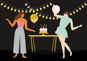 Ladies Dance Birthday Party