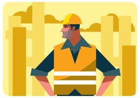 Fabrieksarbeider Vector
