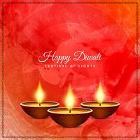 Abstracte mooie Gelukkige Diwali-festivalachtergrond