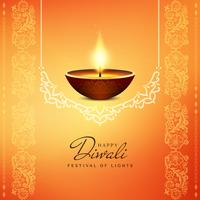 Abstract religious Happy Diwali background