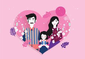 International Adoption Awareness Vector