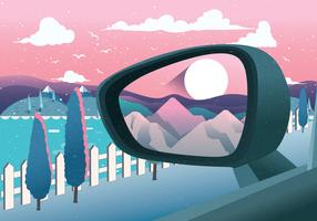 Rear View Mirror Vector