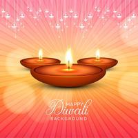 Beautiful Happy Diwali decorative celebration background vector