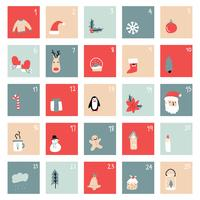 Simple Christmas Advent Calendar