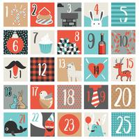 Advent Calendar Vector Design