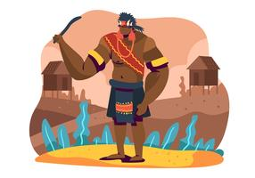 Indigenous People vector