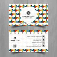 Abstract stylish wave business card template design