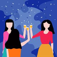 Parties And Gatherings Vector