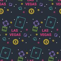 Vector patrón de Las Vegas