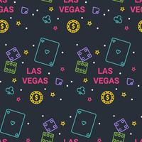 Las Vegas Muster Vektor