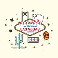 Las Vegas-Vektor