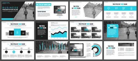 Business Infographic Powerpoint Modelli di diapositive