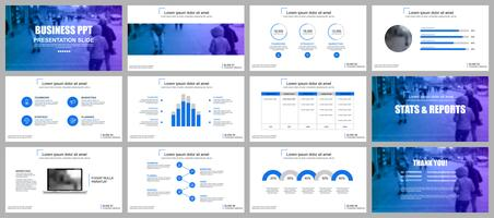 Business presentation powerpoint slides templates
