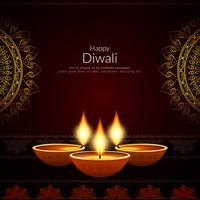 Abstract decorative Happy Diwali background