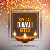 Abstract Happy Diwali festival offer background