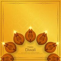 Fundo religioso feliz elegante abstrato de Diwali