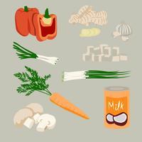 Thaise soep ingrediënten
