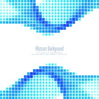 Abstracte blauwe mozaïekachtergrond