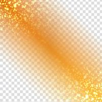 Abstract modern glittering design on transparent background