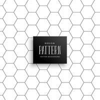 minimale zeshoekige lijn patroon achtergrond