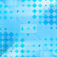 Abstract blue polygonal mosaic background