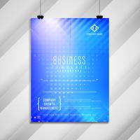 Abstract business brochure template design