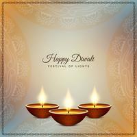 Abstrakter schöner glücklicher Diwali-Festivalhintergrund